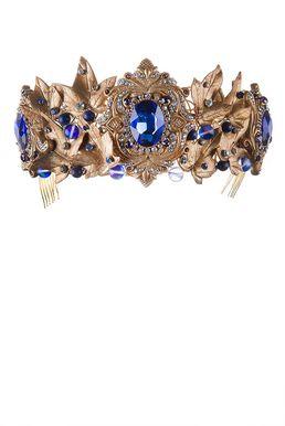 Диадема «Королева Эльфов» (синий)